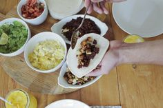 Chorizo and Potato Breakfast Tacos abeautifulmess.com