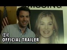 The story of Nick and Amy Dunne is about to be immortalized in the upcoming Ben Affleck and Rosamund Pike film Gone Girl — as much as a film can capture the convoluted tale the novel spins, anyway. From the Gone Girl soundtrack that's available for… David Fincher, Book Trailers, New Trailers, Trailer 2, Amy, Gone Girl Ending, Gone Girl Trailer, Ben Affleck Gone Girl, Netflix