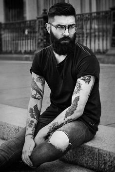 #inkedguy | #chrisjohnmillington | #beardguy