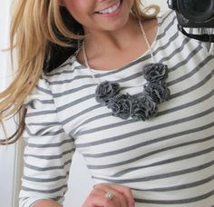 Loving this necklace tutorial from @Ashley Stock :) SO CUTE!