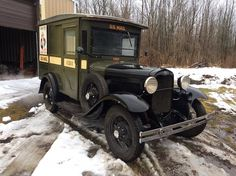 1931 Ford Model A postal delivery truck.....