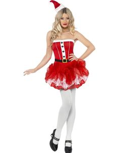 Name : Cute Strapless Christmas Costume Sales Price : US$ 8.85