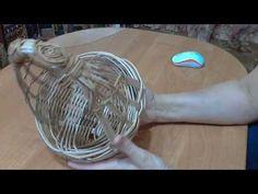 Красивая плетеная корзинка к Пасхе, необычное плетение из бумажных трубочек | oblacco