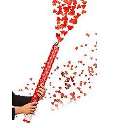 Amazon.de: Herzenregen Feuerwerk Fontäne mit roten Herzen