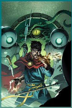 Doctor Strange: Last Days Of Magic #1 variant cover by Andy Brase, colours by Jason Keith *