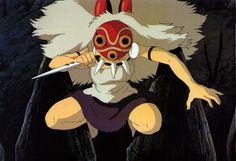 San in Mononoke Hime aka Princess Mononoke has epic ninja skills in one of my favorite anime feature films. Studio Ghibli films have influenced me since childhood Princess Mononoke Characters, Princess Mononoke Cosplay, Hayao Miyazaki, Studio Ghibli Art, Studio Ghibli Movies, Studio Ghibli Characters, Anime Characters, Totoro, Mononoke Anime