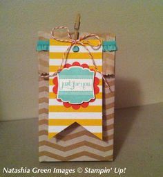 Tag a Bag gift bag Stampin' Up!