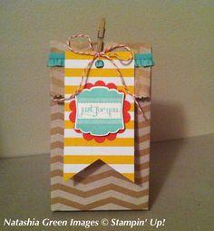 Tag a Bag gift bag Stampin' Up!