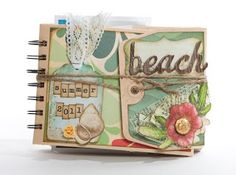 Beach themed mini album.