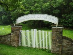 Whitegate Cemetery - final resting place for indigent prisoners from the former West Virginia Penitentiary in Moundsville, WV.  The prisoners maintained a floral fund, each inmate would donate one cent towards flowers to accompany a body to the cemetery. (Graveaddiction.com)