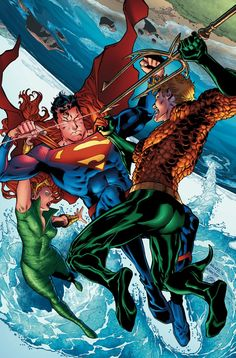AQUAMAN #6 Written by DAN ABNETT Art and cover by BRAD WALKER and ANDREW HENNESSEY