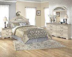 Bedroom Sets 20480: B196 Catalina 4 Pcs Queen Full Panel Headboard Bedroom Set -> BUY IT NOW ONLY: $1321.19 on eBay!