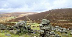 Grimspound - the remains of a Bronze Age settlement on Dartmoor   Devon   England