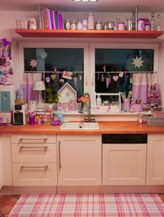 Small, country kitchen...