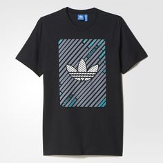 adidas - Camiseta Stripes Trefoil
