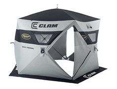 Clam Outdoors Jason Mitchell Thermal 5000 Ice Shelter >>> Click image to review more details.