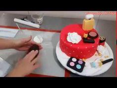 BOLO MAQUIAGEM - MAKEUP CAKE
