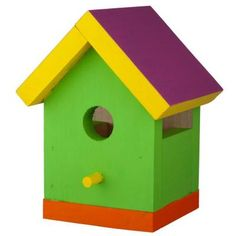 One-Board Birdhouse Brought to you by Lowe's Creative Ideas Want to on christmas home, fish home, art home, owl home, santa home, tree house home, girl home, cats home, orange home, bear home, frog home, hummingbird home, chicken home, easter home, computer home, windmill home, dogs home, red home, butterfly home, bird pets,