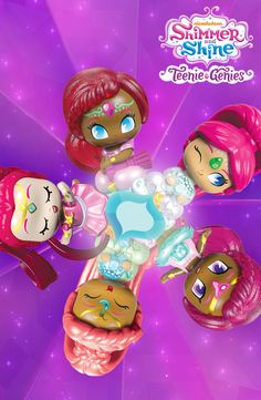A kaleidoscope of Teenie Genies toys are in store now! Collect them all for your Shimmer and Shine fan.