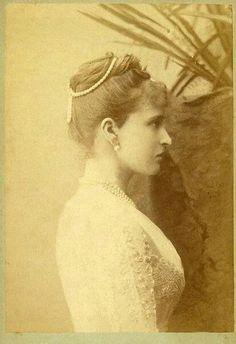 Grand Duchess Elizabeth Feodorovna in the 1880s