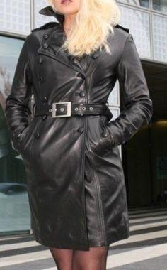b4981ba3c8357 women Genuine Leather Lambskin Inspired Coat Plus Size Custom made