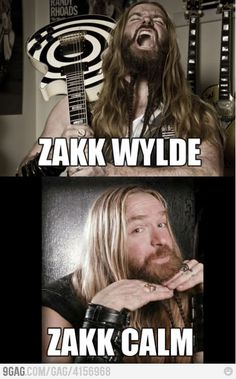 Zakk!!!!! If you don't like this guy get fucking familiar, he's the only heir to ozzys throne.