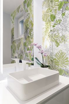 Indoor glazed stoneware wall tiles JUNGLE - @ornamentatiles