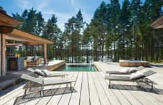 Situated on the Strömsö group of private islands off the southern coast of Finland, Villa Korsholmen is the epitome of an exclusive island getaway.