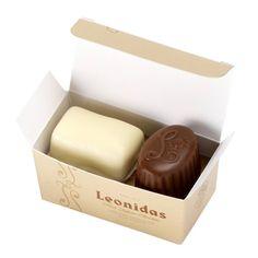 Leonidas Mini-doosje met 2 pralines - Leonidas Online Shop - Fresh Belgian Chocolates