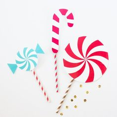 Free Printable Candy Photobooth Props!