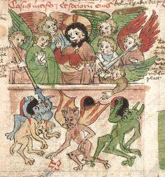 Speculum humanae salvationis. Memento mori-Texte [u.a.] Bayern - Österreich, I: zwischen ca. 1440 - 1466, II: um Mitte 15. Jh., III: 2. Viertel 15. Jh. Cgm 3974  Folio NP
