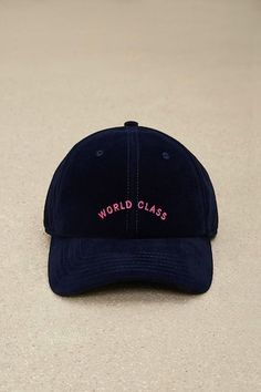 Cayler & Sons World Class Velvet Cap Head Clothing, Cute Caps, Dad Hats, Women's Hats, Cool Hats, Headgear, Suede Boots, Hats For Women, New Outfits