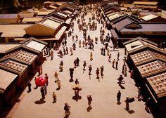 Town of Edo @ Edo-Tokyo Museum (Photo: Mariko K. Foster)