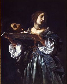 Salome (or Herodias) with the Head of John the Baptist      ca. 1665-1670   Dolci, Carlo, born 1616 - died 1687 (painter (artist))  The Victoria and Albert Museum