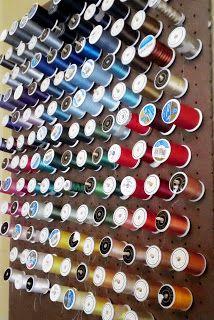 Craft'n Texas Style: DIY Thread Organizer