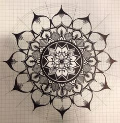 Mandala design for tattoo