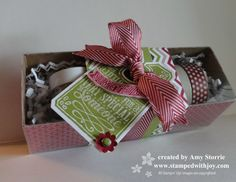 July 21, 2013 by stampedwithjoy: Tag a Bag gift boxes