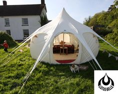 The Lotus Belle tent