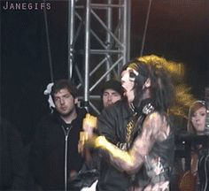 This gif makes me smile so so so so sooooooo much...because he's so into the music :)