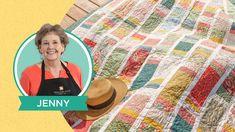 Jenny Doan Tutorials, Msqc Tutorials, Quilting Tutorials, Quilting Projects, Quilting Designs, Sewing Projects, Fall Projects, Sewing Blogs, Layer Cake Quilts