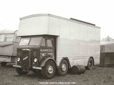George Harrison Quotes, Classic Trucks, Classic Cars, Old Lorries, Air Fighter, Fun Fair, Commercial Vehicle, Caravans, Old Trucks