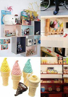 ICHI x zakka 常出現在國外雜誌中的冰淇淋吹泡泡玩具,室內擺飾有更多樂趣! - Yahoo! 奇摩拍賣