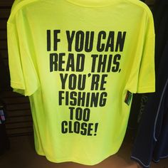 I need to wear this often when I fish.