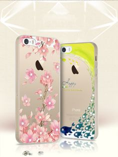 iphone 5 s following iPhone5s silica gel set men and women hockey se five drilling and casing transparent soft glue i5