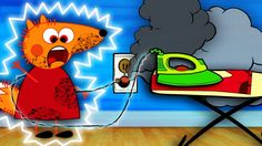 FOX FAMILY Electric shock Baby Plays Dangerously New Episodes Finger Fam...