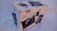 Pintura e Decoupagem em mdf. <br>Pode ser feito com outros temas - consulte disponibilidade <br>Caixa com 5 álbuns para 40 fotos cada <br>Vai presentear? Peça embalagem especial sem custo adicional,