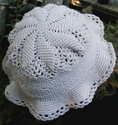 Crochet Patterns Using Cotton Thread : ... Crochet sur Pinterest Motif Gratuit, Chapeaux En Crochet et Crochet