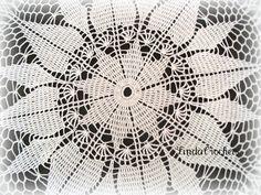 Linda Crochets: Sanguine Doily