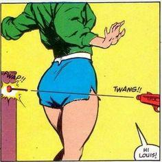 - danismm: vintage comic aesthetically pleasing