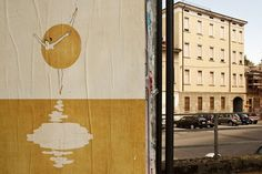 Designerly Posters Take Over a Small Italian City
